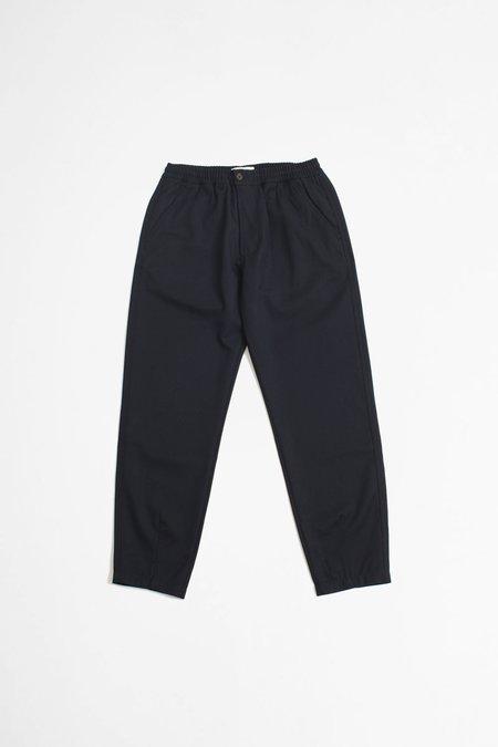 Universal Works MW Wool Twill Deck Pant - Navy