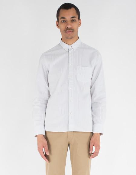 La Paz Branco Shirt Grey Stripes