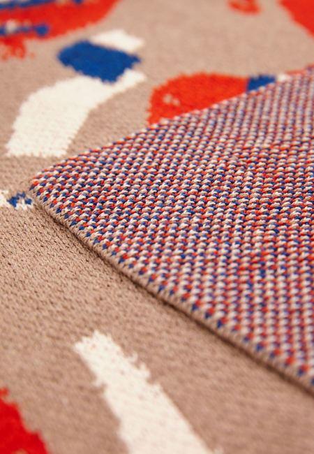 Hillery Sproatt  Knit Blanket -  Field Fellows Hemp