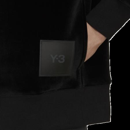 adidas x Y-3 Square Velvet Spacer Crew - Black
