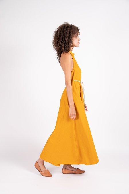 Baserange Shore dress - Orange