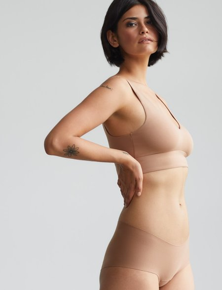 Commando Butter Comfy Bralette - Toffee