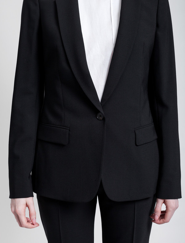 Derek Lam 10 Crosby Single Bi-stretch Jacket
