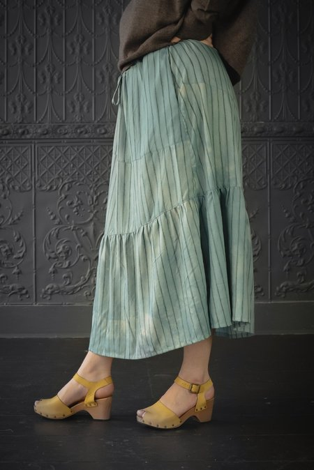 Pamela Mayer Asymmetrical Yoke Skirt - Multi