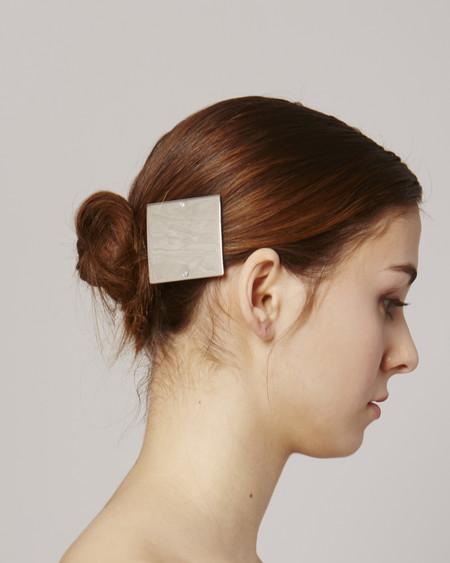 Sylvain le Hen Hairclip HC03 - Silver