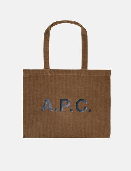A.P.C. Diane Shopping Bag - Brown