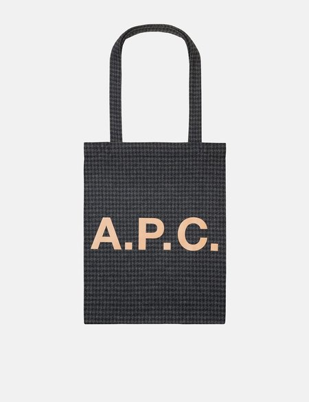 A.P.C. Lou Tote Bag - Navy Blue