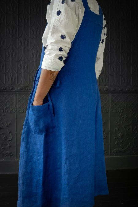 Pamela Mayer Jumper Dress - Cobalt Blue