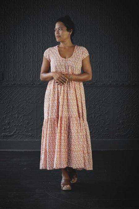 Matta NY Sabina Greece Dress - rust