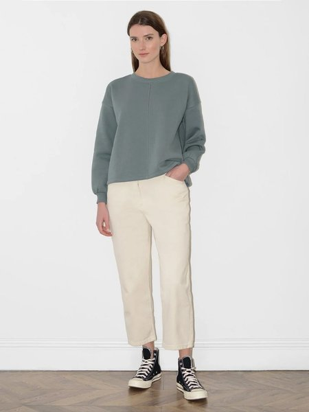 Great Plains Soft Jersey Sweater - Washed Bottle Green