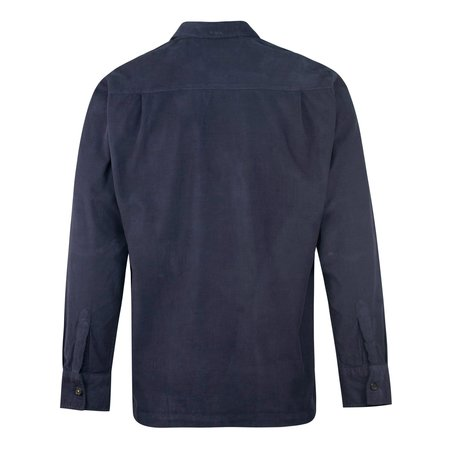 Universal Works Trek Pocket Cord Shirt - Navy