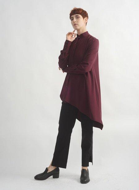 Meg King Shirt - Eggplant