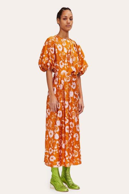 STINE GOYA Aubrie Dress - Euphoria Orange