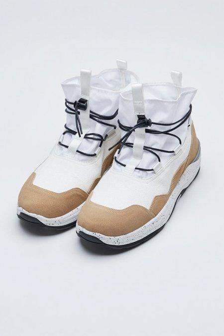 Suicoke Robbs-Ab Boot - White/Beige