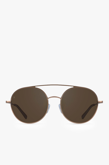 Raen Optics Scripps Sunglasses in Rose Gold