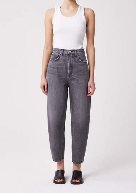AGOLDE Balloon Ultra High Rise Curved Taper jeans - Wicked