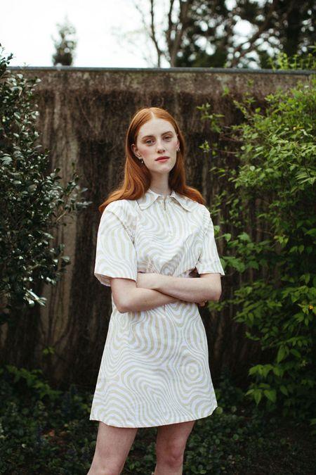Mane Project Gratify Shift Dress - Hypno Beige