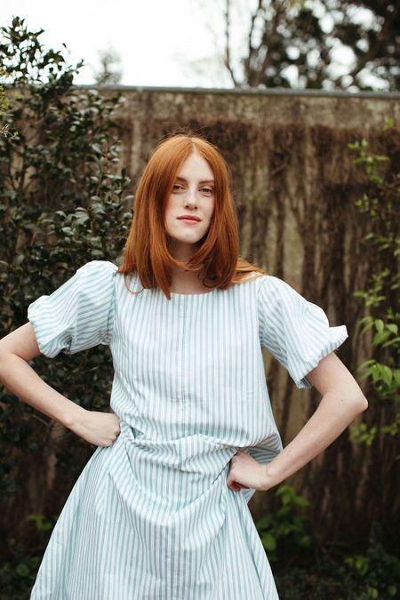 Mane Project Hypno Dress - Green Stripe