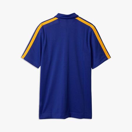 adidas Originals by Eric Emanuel Summer Essentials Snap Shirt - blue