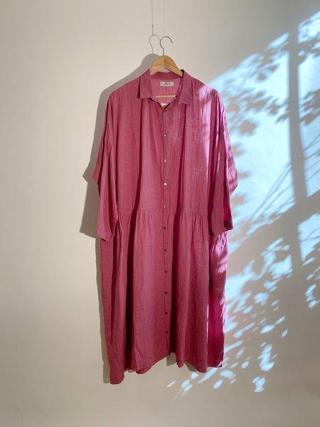 ICHI ANTIQUITES Color Linen Dress