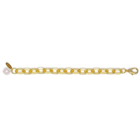 Joomi Lim Chain Bracelet - Pearl Charm