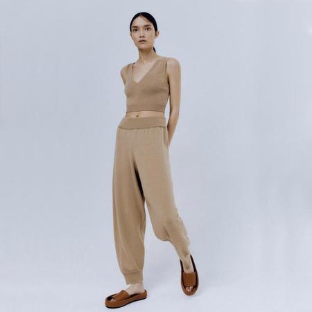 Mónica Cordera Wool Pants - Camel