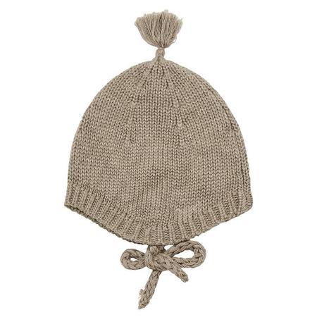Kids Bonton Baby Hat - Taupe