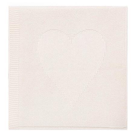 Kids Bonton Baby Knit Blanket - Rose Des Fleurs Pink