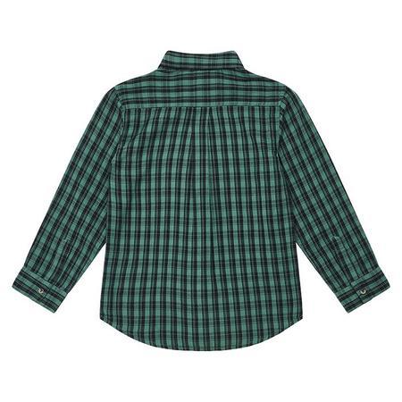 Kids Bonton Child Paname Shirt - Green Checks