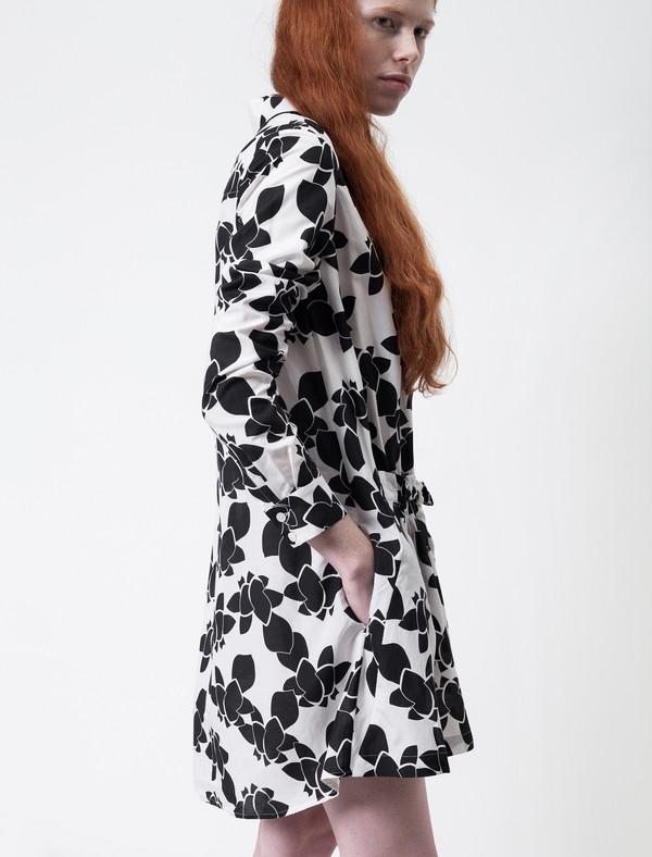 Thakoon Addition Voile Gathered Waist Dress