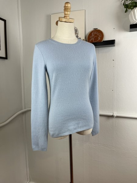 [pre-loved] Christopher Pischer Cashmere Sweater - Blue