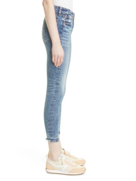 Rag & Bone Cate Mid-Rise Ankle Skinny Jean - Norwalk