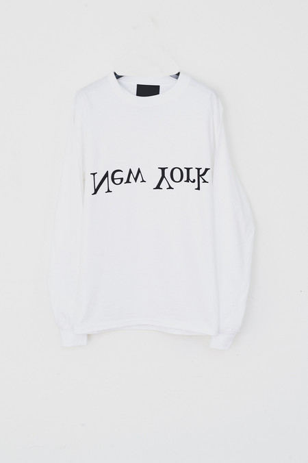 Assembly New York Cotton New York Chest Logo T-shirt - White