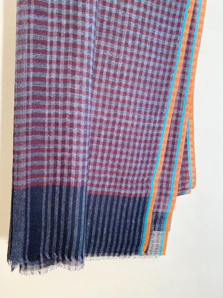 Épice Paris Check 2 Wool Stole