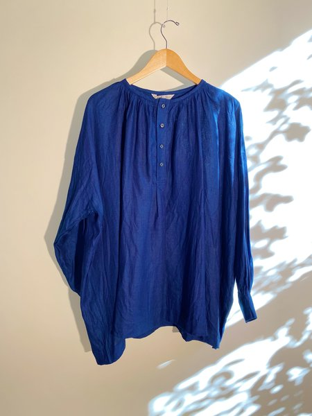ICHI ANTIQUITES Herringbone Pullover - Indigo