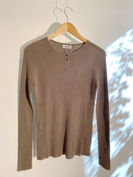 ICHI ANTIQUITES Rib Knit Pullover