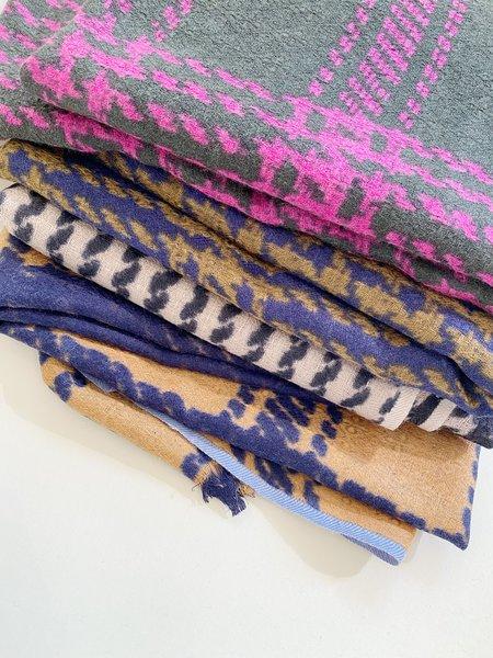 Épice Paris Tweedcheck Wool Scarf
