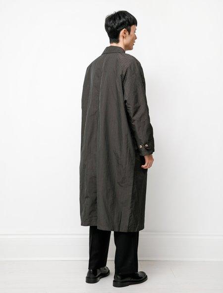 mfpen Installation Coat - Dark Brown Tartan