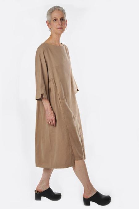 Atelier Delphine Maia Dress - Warm Tan