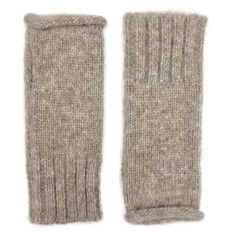 Megan Huntz Essential Alpaca Gloves - Beige