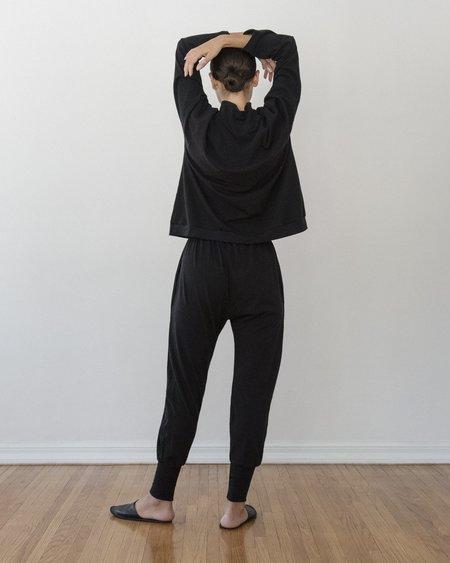 Wol Hide Long Joh pants - Black