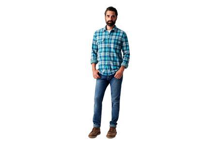 Faherty Brand Legend Sweater Shirt Chatham Plaid