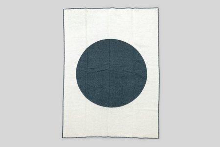 Norden x Faculty Department Wool Throw Blanket - Forest