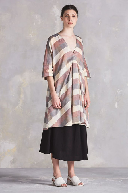 KOWTOW Compass Dress in Check