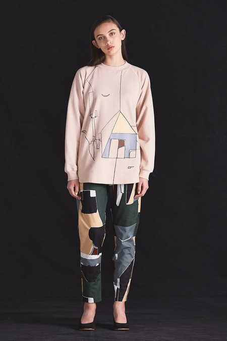 KOWTOW Dreamscape Crew in Dusty Pink