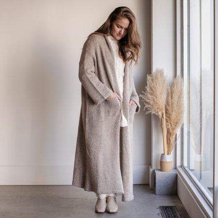 Atelier Delphine Haori Extra Long Coat - Deer