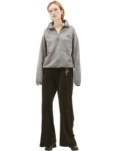 Maison Margiela Zippered collar sweatshirt - grey