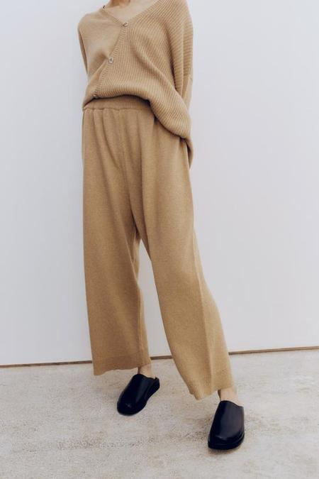 Monica Cordera Baby Alpaca Pants - Camel