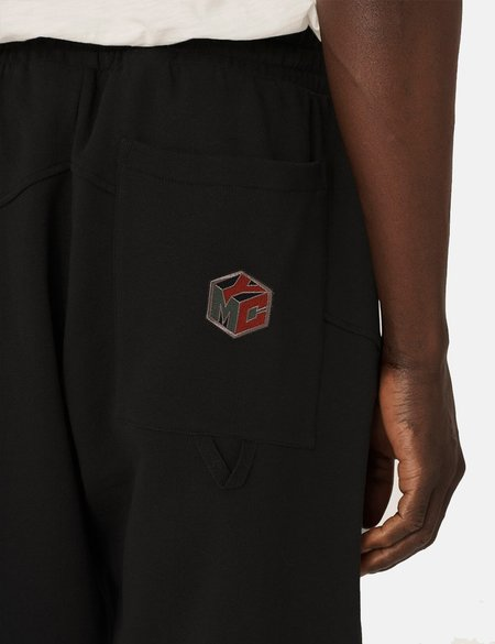 YMC Alva Organic Loopback Sweat Trousers - Black