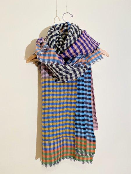 Épice Paris Check 4- Wool Stole SCARF